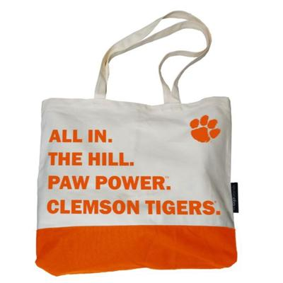 Clemson Logo Brands Favorite Things Tote