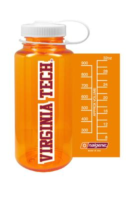 Virginia Tech Nalgene Big Mouth Water Bottle