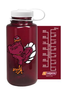 Virginia Tech Nalgene Hokiebird Big Mouth Water Bottle