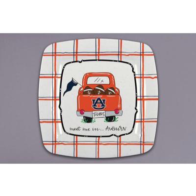Auburn Magnolia Lane Melamine Truck Plate