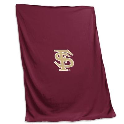 Florida State Logo Brands Sweatshirt Blanket