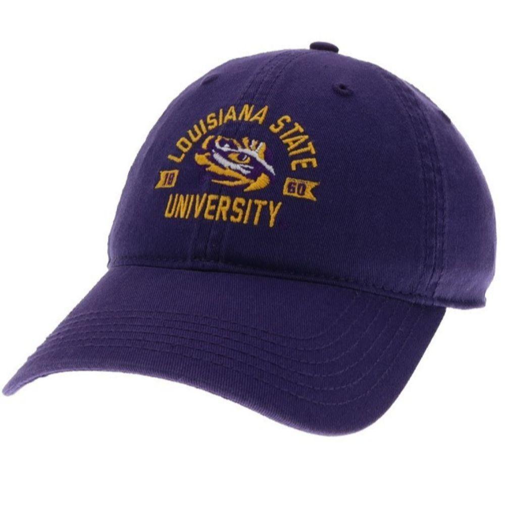 Lsu Legacy Arch With Eye Logo Twill Adjustable Hat