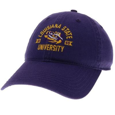 LSU Legacy Arch with Eye Logo Twill Adjustable Hat