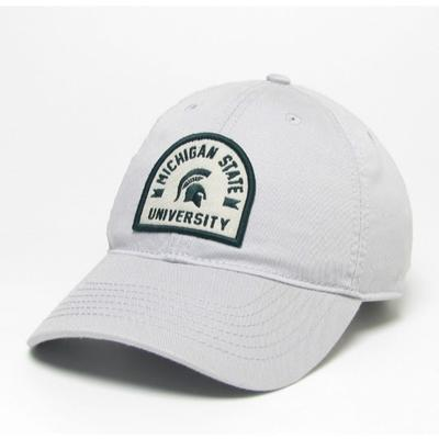 Michigan State Legacy Arch w Logo Adjustable Twill Hat