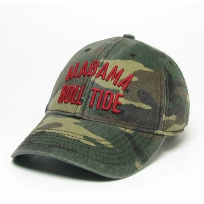 Alabama Legacy Roll Tide Camo Adjustable Hat