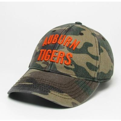 Auburn Legacy Tigers Camo Twill Adjustable Hat