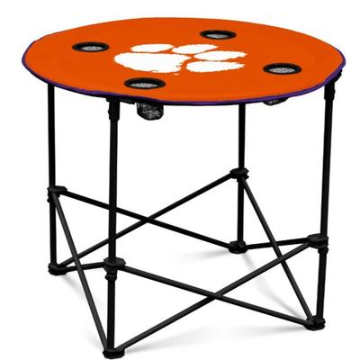 Clemson Logo Brands Round Table