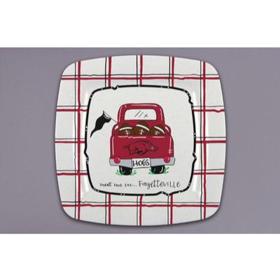 Arkansas Magnolia Lane Melamine Truck Plate