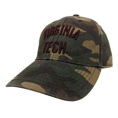 Virginia Tech Legacy Camo Adjustable Twill Hat