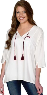 Virginia Tech University Girl Tassel Tunic