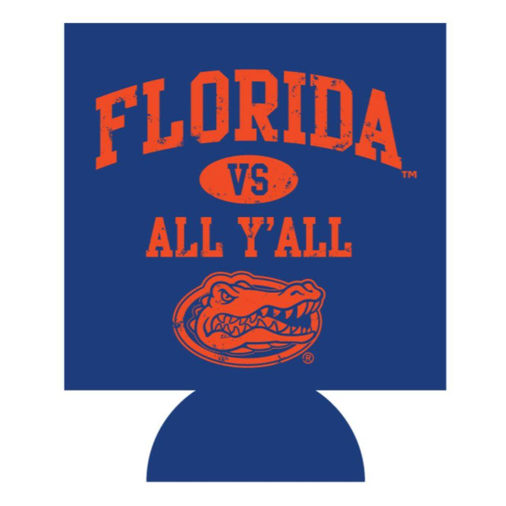 Florida Vs All Y ' All Koozie