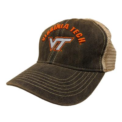 Virginia Tech Legacy Toddler Arch w Logo Adjustable Trucker Hat