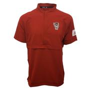 Nc State Adidas Men's 1/4 Zip Pullover