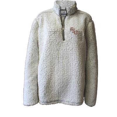 Florida State Summit Women's 1/4 Zip Solid Sherpa
