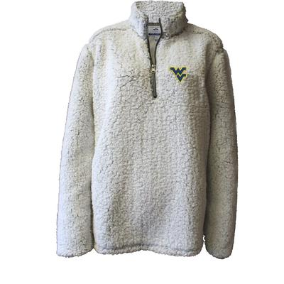 West Virginia Summit Women's 1/4 Zip Solid Sherpa