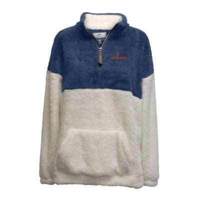 Auburn Summit Women's Double Plush 1/4 Zip Pullover