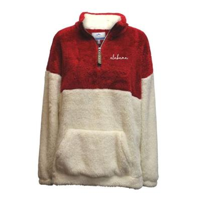 Alabama Summit Women's Double Plush 1/4 Zip Pullover
