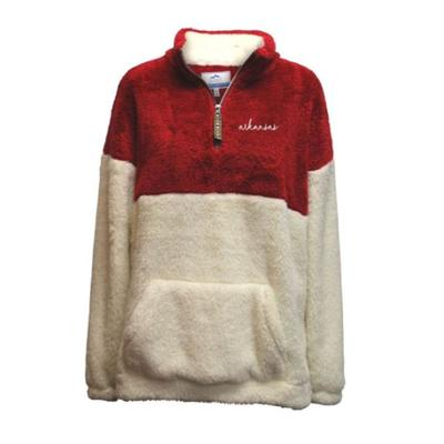 Arkansas Summit Women's Double Plush 1/4 Zip Pullover