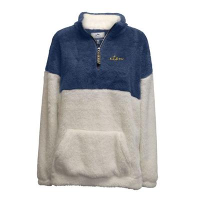 ETSU Summit Women's Double Plush 1/4 Zip Pullover