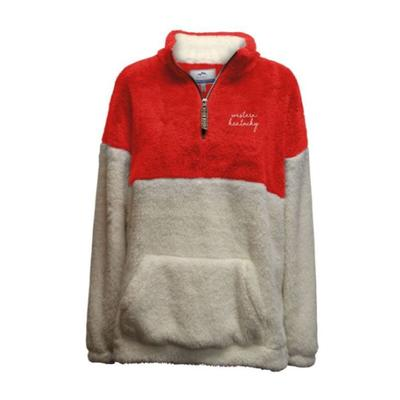 Western Kentucky Summit Women's Double Plush 1/4 Zip Pullover