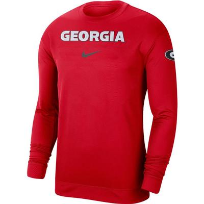 Georgia Nike Dri-FIT Spotlight Long Sleeve Tee