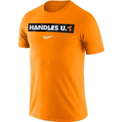 Tennessee Nike Dri-FIT Cotton Basketball Motto Tee