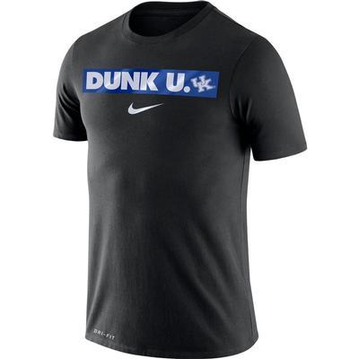 Kentucky Nike Dri-FIT Cotton Basketball Motto Tee