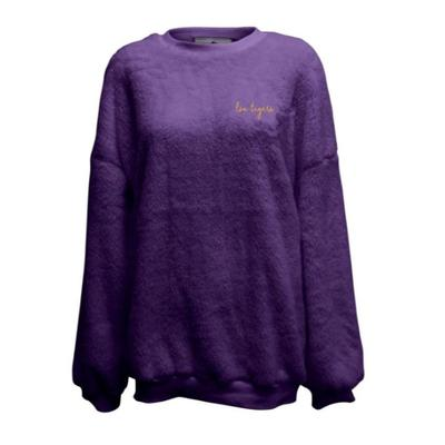 LSU Summit Women's Slouchy Drop Shoulder Crew