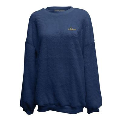 ETSU Summit Women's Slouchy Drop Shoulder Crew