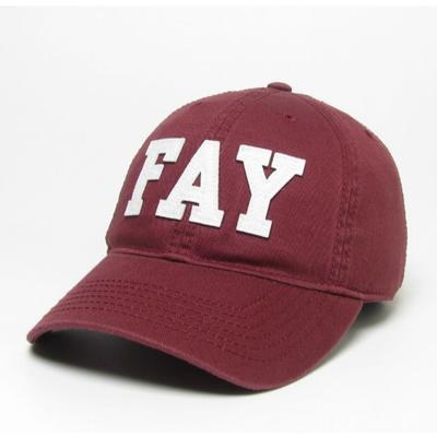Arkansas Legacy Youth Fay Adjustable Twill Hat