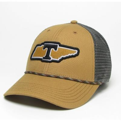 Tennessee Legacy Lo Pro State with T Snap Back Adjustable Hat