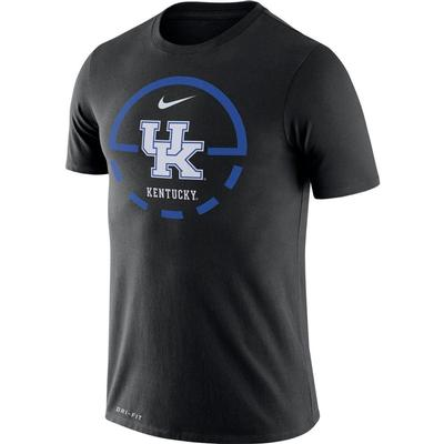 Kentucky Nike Dri-FIT Legend Key 2.0 Tee
