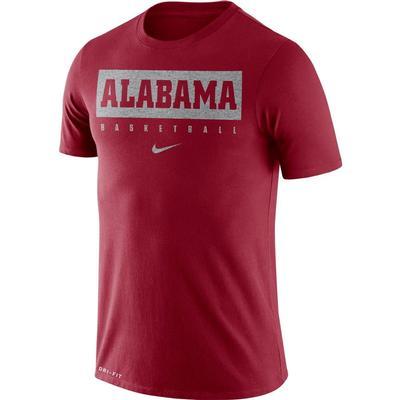 Alabama Nike Dri-FIT Legend Practice Tee CRIMSON
