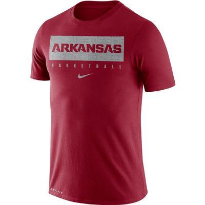 Arkansas Nike Dri-FIT Legend Practice Tee CRIMSON