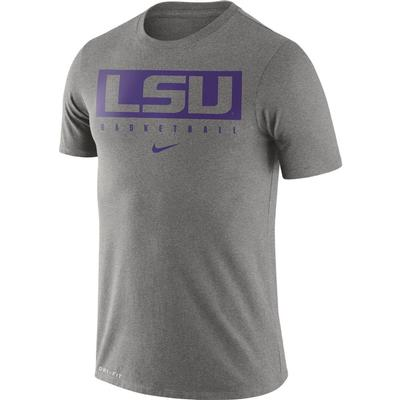 LSU Nike Dri-FIT Legend Practice Tee