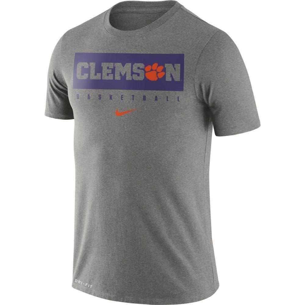 Clemson Nike Dri- Fit Legend Practice Tee