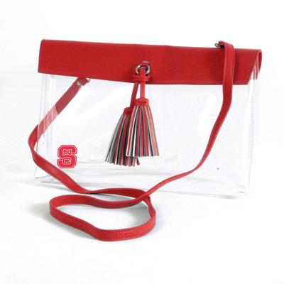 NC State Game Day Clear Rara Purse