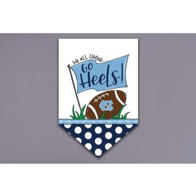 UNC Magnolia Lane Cheer Garden Flag