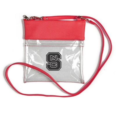 UNC State Clear Game Day Crossbody