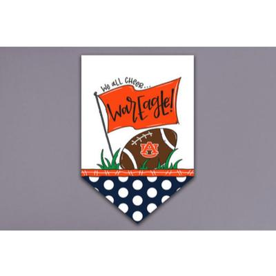 Auburn Magnolia Lane Cheer Garden Flag