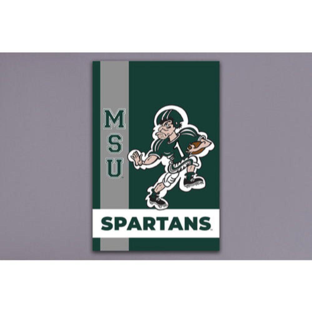 Michigan State Magnolia Lane Vintage Garden Flag