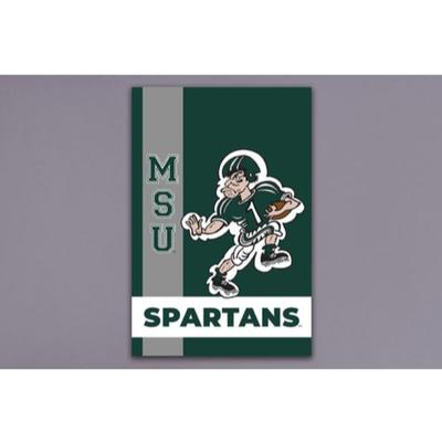 Michigan State Magnolia Lane Vintage Garden Flag