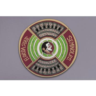 Florida State Magnolia Lane Melamine Platter