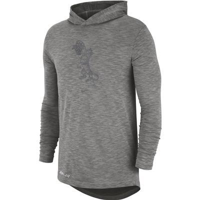 LSU Nike Long Sleeve Slub Hoody Tee