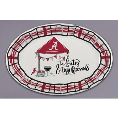 Alabama Magnolia Lane Melamine Oval Platter