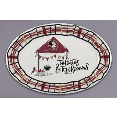 Florida State Magnolia Lane Melamine Oval Platter