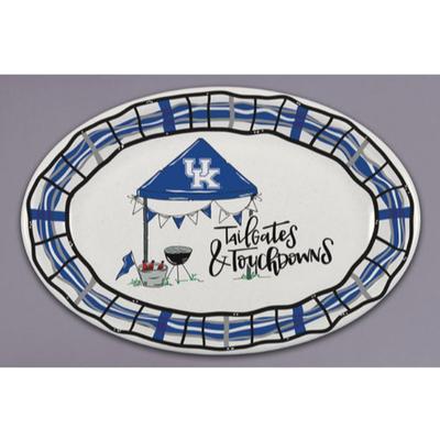 Kentucky Magnolia Lane Melamine Oval Platter