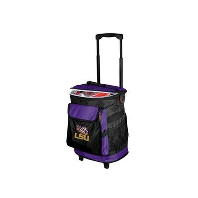 LSU Logo Chair Rolling Backpack Cooler