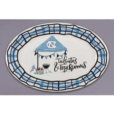 UNC Magnolia Lane Melamine Oval Platter