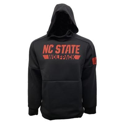 NC State Adidas Men's Game Mode Hoodie BLACK